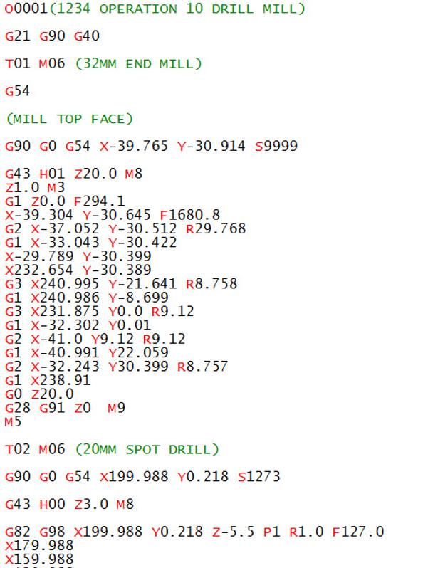 g code cnc