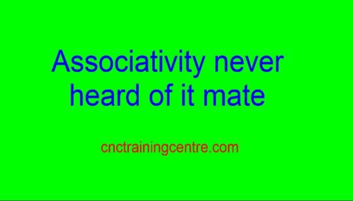 Edgecam Associativity