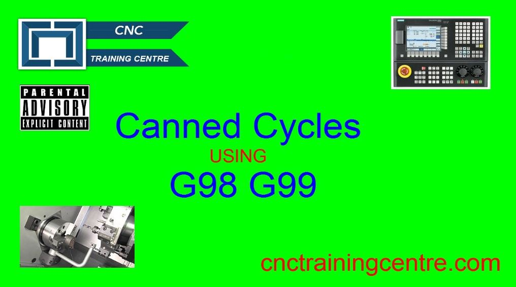 Canned Cycles Using G98 G99
