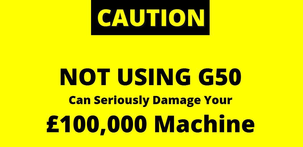 Avoid CNC Crashes