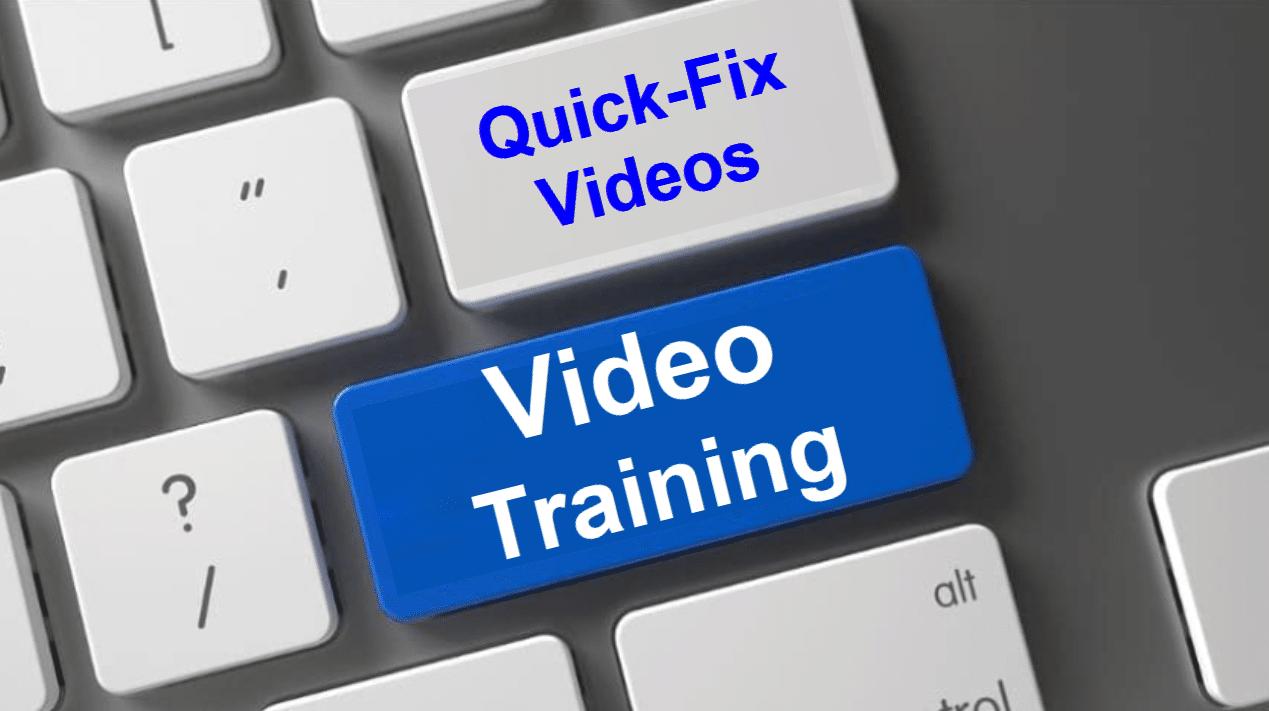 Quick Fix Videos